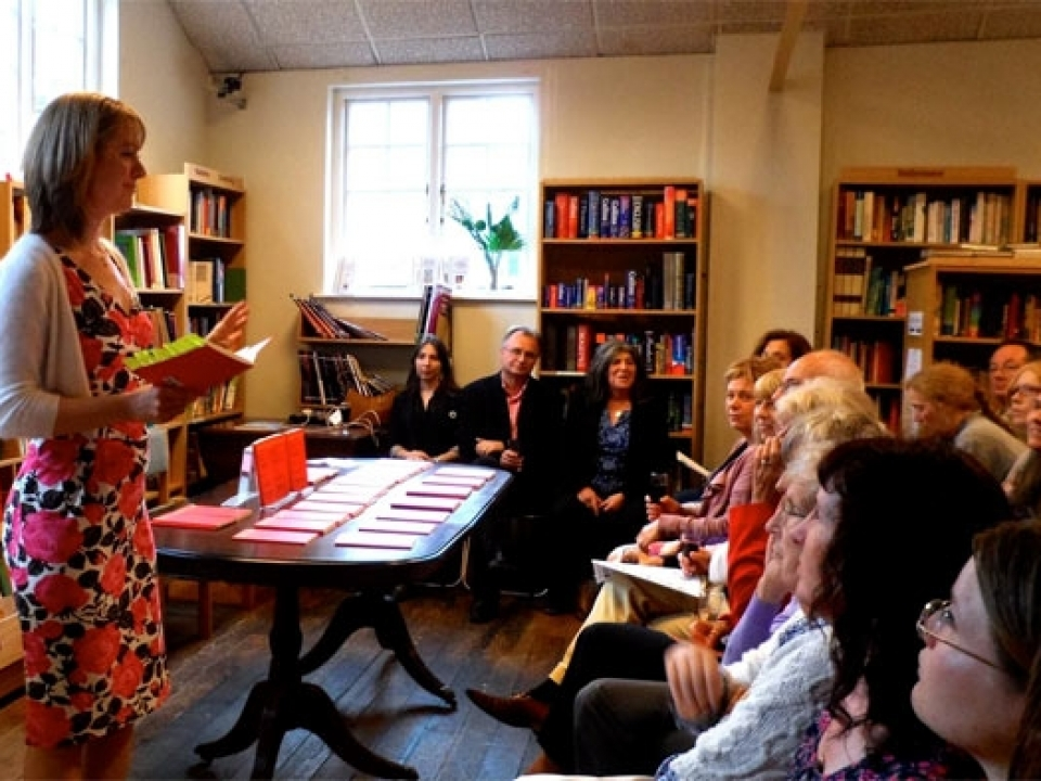 Book launch, Summer 2011